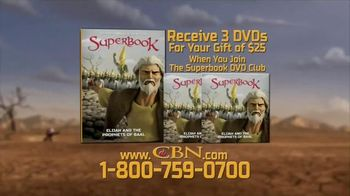 CBN Superbook: Elijah and the Prophets of Baal TV Spot, 'What to Put First'