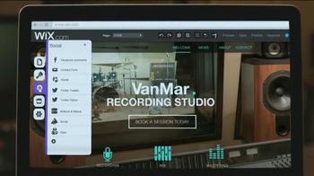 Wix.com TV Spot, 'Recording Studio' - Thumbnail 1