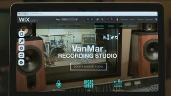 Wix.com TV Spot, 'Recording Studio' - Thumbnail 2