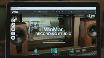 Wix.com TV Spot, 'Recording Studio' - Thumbnail 3