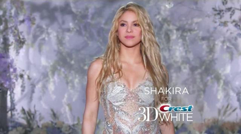 Crest 3D White Luxe TV Spot, 'The Power to Captivate' Featuring Shakira - 5585 commercial airings