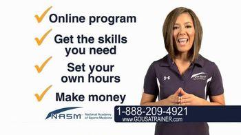 National Academy of Sports Medicine (NASM) TV Spot, 'The Career for You'