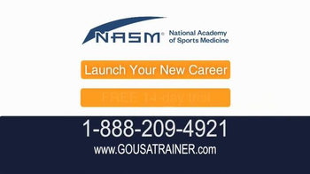 National Academy of Sports Medicine (NASM) TV Spot, 'The Career for You' - Thumbnail 10