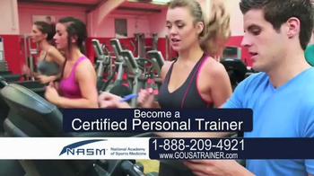 National Academy of Sports Medicine (NASM) TV Spot, 'The Career for You' - Thumbnail 2