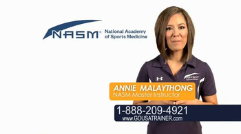 National Academy of Sports Medicine (NASM) TV Spot, 'The Career for You' - Thumbnail 3