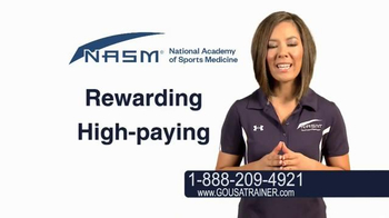 National Academy of Sports Medicine (NASM) TV Spot, 'The Career for You' - Thumbnail 4