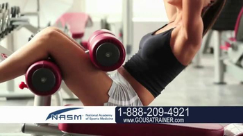 National Academy of Sports Medicine (NASM) TV Spot, 'The Career for You' - Thumbnail 5