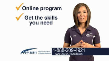 National Academy of Sports Medicine (NASM) TV Spot, 'The Career for You' - Thumbnail 6