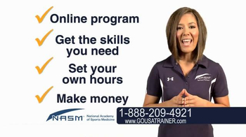 National Academy of Sports Medicine (NASM) TV Spot, 'The Career for You' - Thumbnail 7