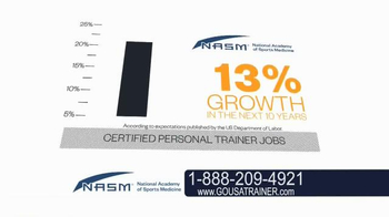 National Academy of Sports Medicine (NASM) TV Spot, 'The Career for You' - Thumbnail 8
