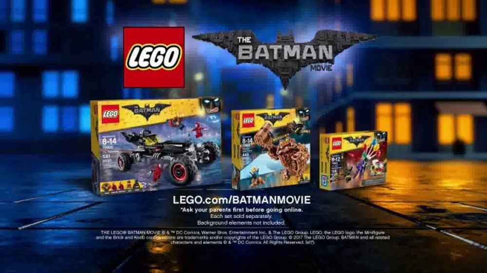 LEGO Batman Movie Sets TV Commercial, 'Chase Down Villains' - iSpot.tv