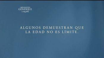 Lancôme Paris Advanced Génifique TV Spot, 'La edad no es límite' [Spanish] - 20 commercial airings
