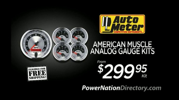PowerNation Directory TV Spot, 'Gauge Kits, Clutch Kits and EFI Systems' - Thumbnail 2