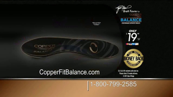 Copper Fit Balance TV Spot, 'A Sense of Balance' Featuring Brett Favre - Thumbnail 8