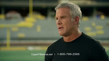 Copper Fit Balance TV Spot, 'A Sense of Balance' Featuring Brett Favre - Thumbnail 6