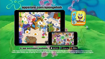Spongebob Moves In App TV Spot, 'Build Bikini Bottom' - 5919 commercial airings