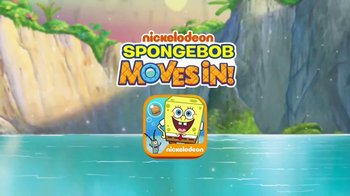 Spongebob Moves In App TV Spot, 'Build Bikini Bottom' - Thumbnail 1