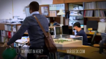 Varidesk Standing Desks TV Spot, 'Out There' - Thumbnail 2