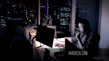 Varidesk Standing Desks TV Spot, 'Out There' - Thumbnail 3