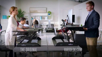 Varidesk Standing Desks TV Spot, 'Out There' - Thumbnail 4
