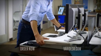 Varidesk Standing Desks TV Spot, 'Out There' - Thumbnail 7