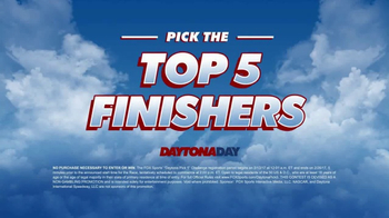 FOX Sports Daytona Day Pick 5 TV Spot, 'Lucky Numbers' Ft. Denny Hamlin - Thumbnail 8