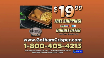 Gotham Steel Crisper Tray TV Spot, 'Oven-Fried Foods' - Thumbnail 9