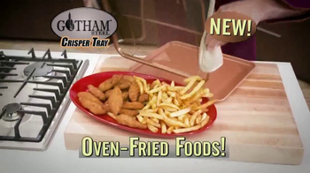 Gotham Steel Crisper Tray TV Spot, 'Oven-Fried Foods' - Thumbnail 2