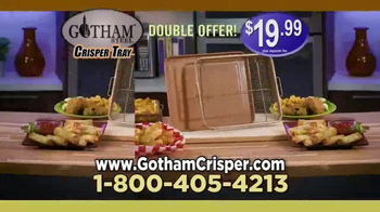 Gotham Steel Crisper Tray TV Spot, 'Oven-Fried Foods' - Thumbnail 8
