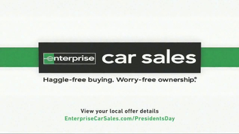 Enterprise Presidents Day Celebration TV Spot, 'Special Trade-In Offer' - Thumbnail 6
