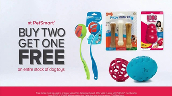 PetSmart Stock Up & Save TV Spot, 'Toys and Treats' Song by Queen - Thumbnail 6