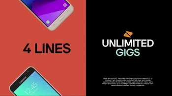Boost Mobile Family Plan TV Spot, 'Four Lines for $100' - Thumbnail 5