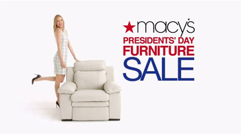 Macy's Presidents Day Furniture Sale TV Spot, 'Furniture for Every Room' - Thumbnail 2