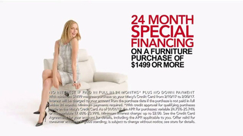 Macy's Presidents Day Furniture Sale TV Spot, 'Furniture for Every Room' - Thumbnail 5