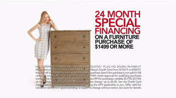 Macy's Presidents Day Furniture Sale TV Spot, 'Furniture for Every Room' - Thumbnail 6