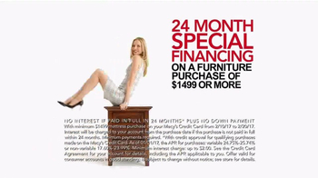 Macy's Presidents Day Furniture Sale TV Spot, 'Furniture for Every Room' - Thumbnail 7