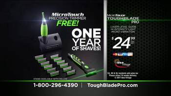MicroTouch Toughblade Pro TV Spot, 'Whole New Light' Featuring Brett Farve - Thumbnail 9