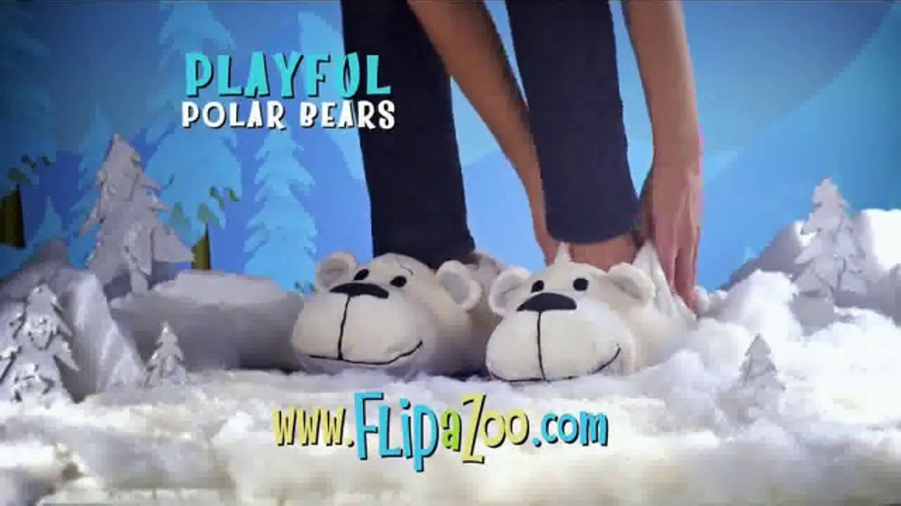 73fcbe974c3 FlipaZoo Slippers TV Commercial