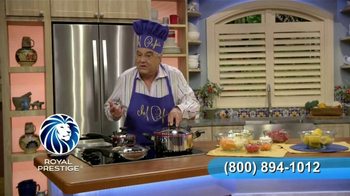 Royal Prestige TV Spot, 'Silicona' con Chef Pepín [Spanish] - Thumbnail 5