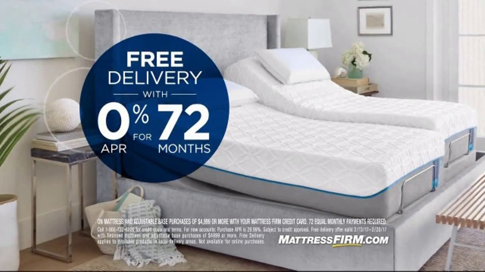 Mattress Firm Presidents Day Sale Tv Commercial Adjustable Sets