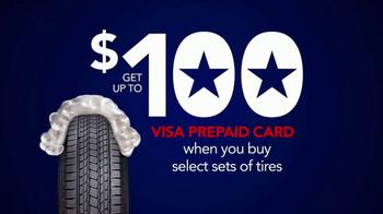 Discount Tire Presidents Day Deals TV Spot, 'Prepaid Cards' - Thumbnail 4