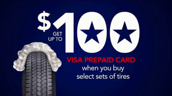Discount Tire Presidents Day Deals TV Spot, 'Prepaid Cards' - Thumbnail 5