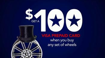 Discount Tire Presidents Day Deals TV Spot, 'Prepaid Cards' - Thumbnail 6