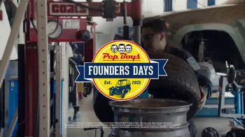 PepBoys Founders Days Event TV Spot, 'Keep America Moving'