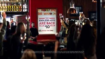 TGI Friday's Endless Apps TV Spot, 'Back for Good' - Thumbnail 5