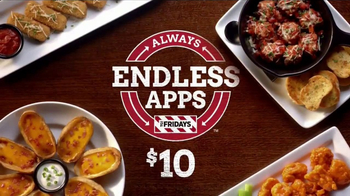 TGI Friday\'s Endless Apps TV Spot, \'Back for Good\'