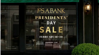 JoS. A. Bank Presidents Day Sale TV Spot, 'Suits, Sport Coats & Sweaters' - Thumbnail 8