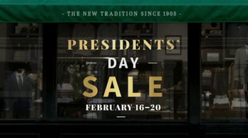 JoS. A. Bank Presidents Day Sale TV Spot, 'Suits, Sport Coats & Sweaters' - Thumbnail 2