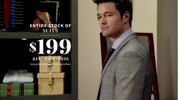 JoS. A. Bank Presidents Day Sale TV Spot, 'Suits, Sport Coats & Sweaters' - Thumbnail 4