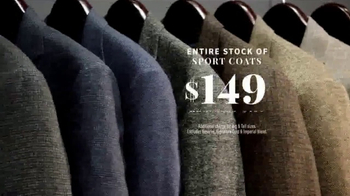 JoS. A. Bank Presidents Day Sale TV Spot, 'Suits, Sport Coats & Sweaters' - Thumbnail 5